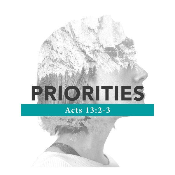 Priorities – 11/24/2019