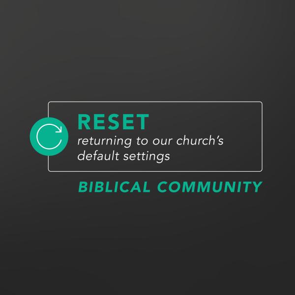 Reset - Biblical Community