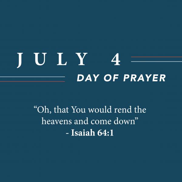 Day of Prayer • July 4th