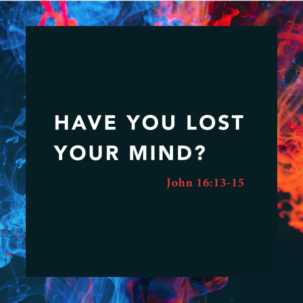 Have You Lost Your Mind?, pt. 2 • July 25th