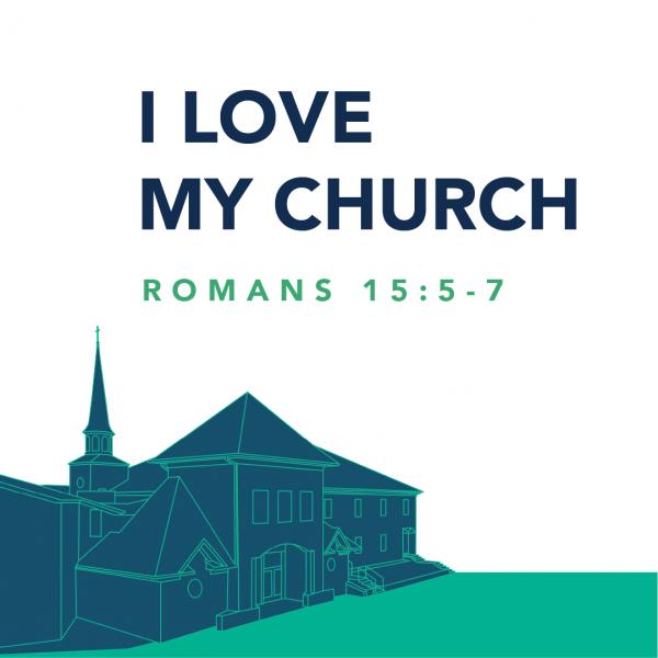 I Love My Church, pt. 2 • August 22nd